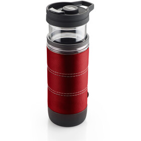 GSI Commuter Java Press Mug, red